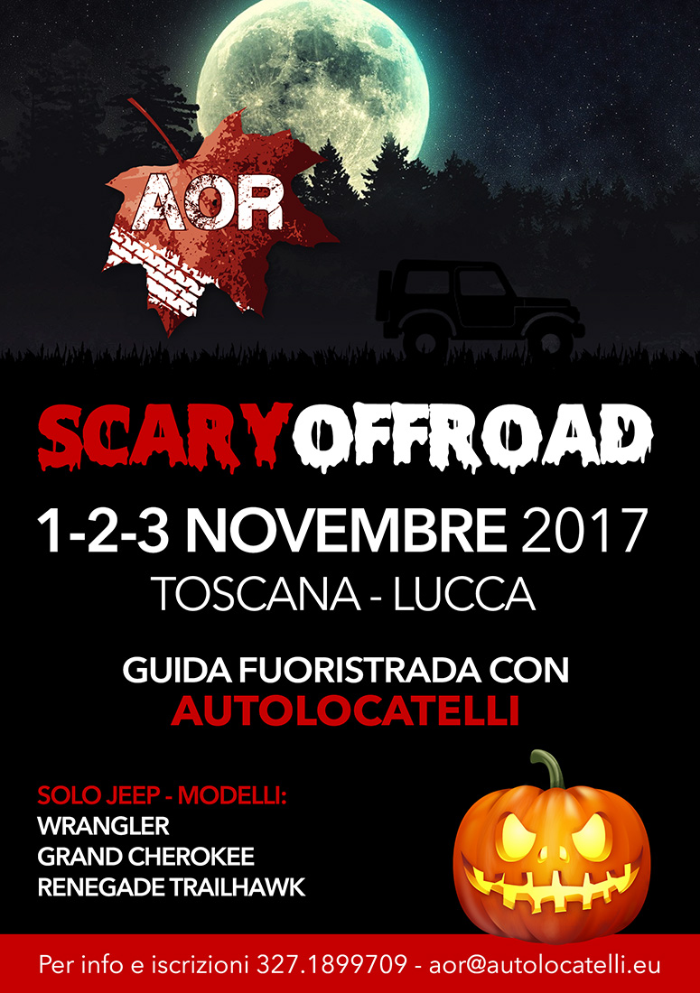 201709 flyer raduno aor halloween2017 scary offroad