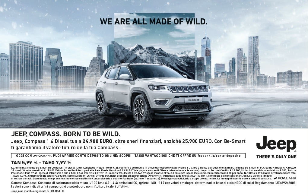 Offeret Jeep Compass Monza