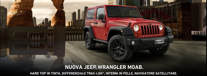 NUovo Jeep Wrangelr MOAB - Autolocatelli