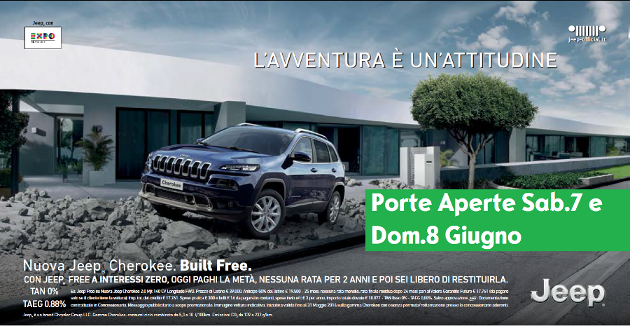 Porte Aperte Jeep Autolocatelli Concessionario