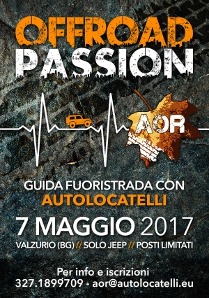 AOR - Quarto Evento OFF ROAD JEEP 4x4 Autolocatelli 2017