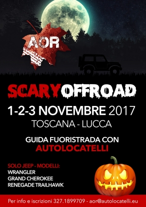 AOR - Evento OFF ROAD JEEP 4x4 Autolocatelli 2017 - Scary OffRoad
